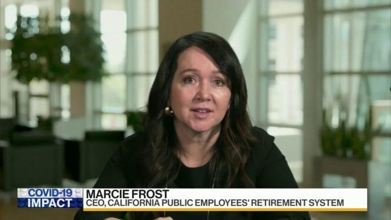 Screenshot of Marcie Frost on BNN Bloomberg